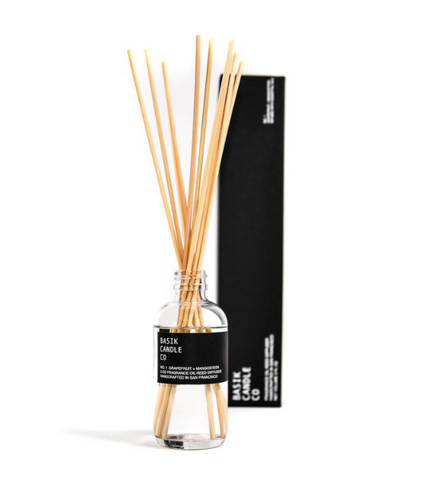 REED DIFFUSER BASIK NO. 1 - GRAPEFRUIT + MANGOSTEEN