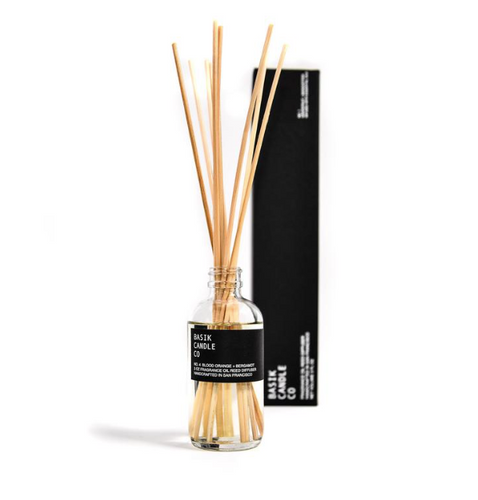 REED DIFFUSER BASIK NO. 4 - BLOOD ORANGE + BERGAMOT