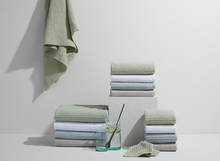 Load image into Gallery viewer, SIMPLE WAFFLE TOWELS - LIGHT GREY