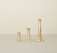 Load image into Gallery viewer, SIMPLE CANDLESTICKS - BRASS