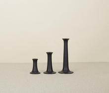 Load image into Gallery viewer, SIMPLE CANDLESTICKS - BLACK