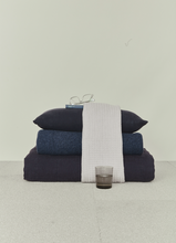Load image into Gallery viewer, LINEN BEDDING - NAVY