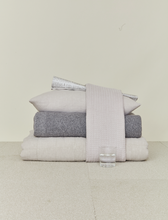 Load image into Gallery viewer, LINEN BEDDING - LIGHT GREY