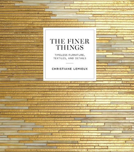 THE FINER THINGS BOOK