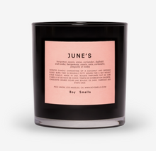 Load image into Gallery viewer, BOY SMELLS JUNE'S CANDLE