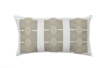 Load image into Gallery viewer, PILLAR APPLIQUÉ IVORY PILLOW