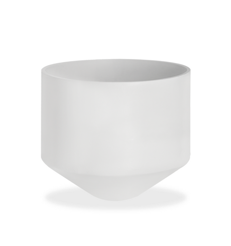 CONE PLANTER - SMALL WHITE