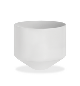 CONE PLANTER - WHITE LARGE