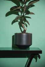 Load image into Gallery viewer, CONE PLANTER - SMALL BLACK
