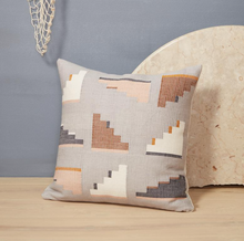 Load image into Gallery viewer, BARRAGAN PILLOW - LIGHT GREY