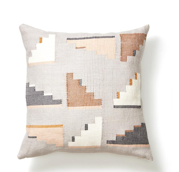 BARRAGAN PILLOW - LIGHT GREY