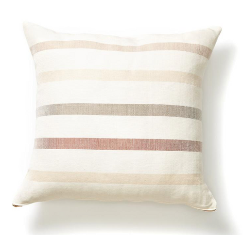 CONDESSA STRIPE PILLOW - SQUARE