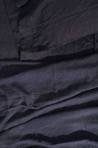 LINEN BEDDING - BLACK