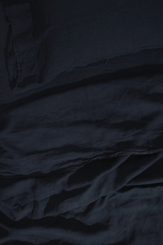LINEN BEDDING - NAVY