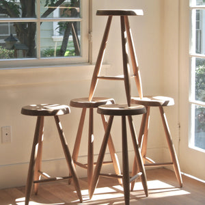 ALPINE STOOL - BLACK ASH