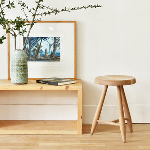 ALPINE STOOL - WHITE OAK