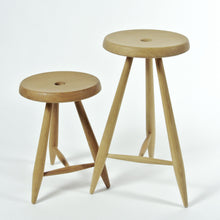Load image into Gallery viewer, ALPINE STOOL - BLACK WALNUT