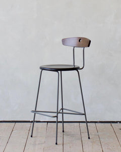 ANNA STOOL - CHARCOAL