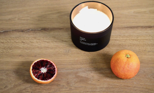 BASIK CANDLE NO. 4 - BERGAMOT + BLOOD ORANGE