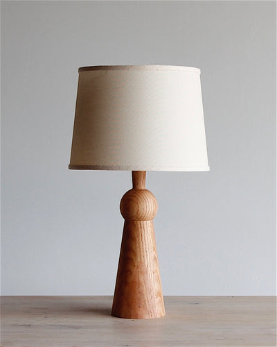 BELLA SKIRT LAMP - NATURAL