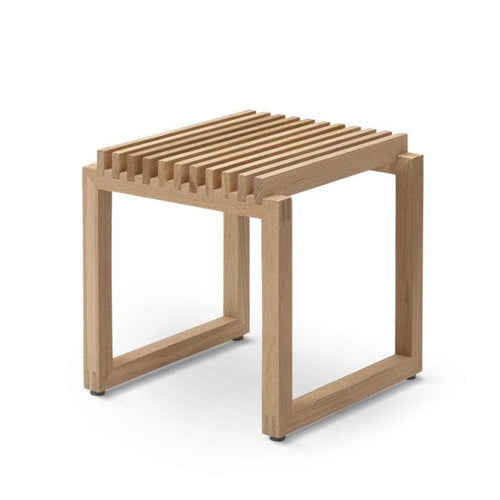 CUTTER STOOL - NATURAL OAK