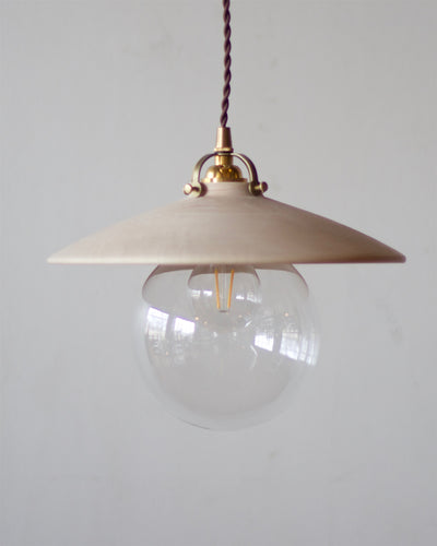 EDMUND PENDANT LIGHT - CLEAR MAPLE