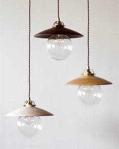 EDMUND PENDANT LIGHT - BLACK WALNUT