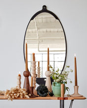 Load image into Gallery viewer, FAIRMOUNT MIRROR LONG OVAL - BLACK