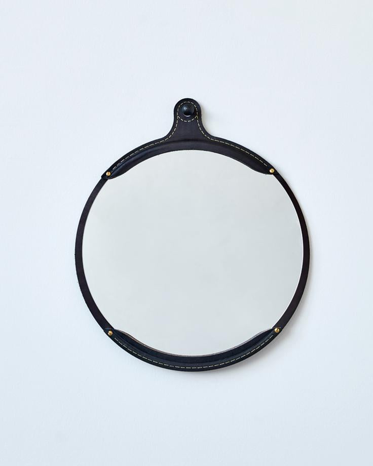 FAIRMOUNT MIRROR ROUND - BLACK
