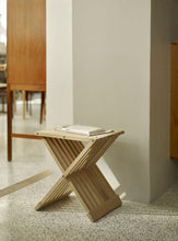 Load image into Gallery viewer, FIONIA STOOL - NATURAL OAK