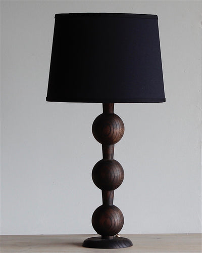 HUGO BARBELL TABLE LAMP - DARK WASH