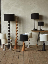 Load image into Gallery viewer, HUGO BARBELL FLOOR LAMP - DARK WASH