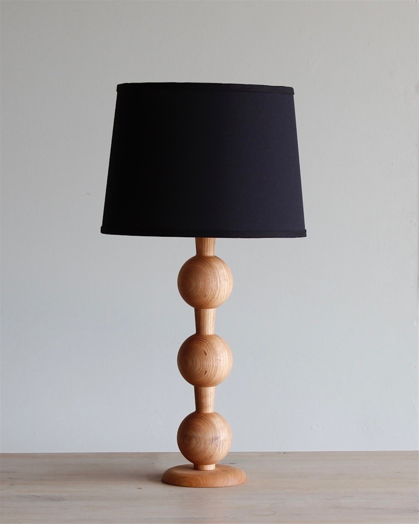 HUGO BARBELL TABLE LAMP - NATURAL