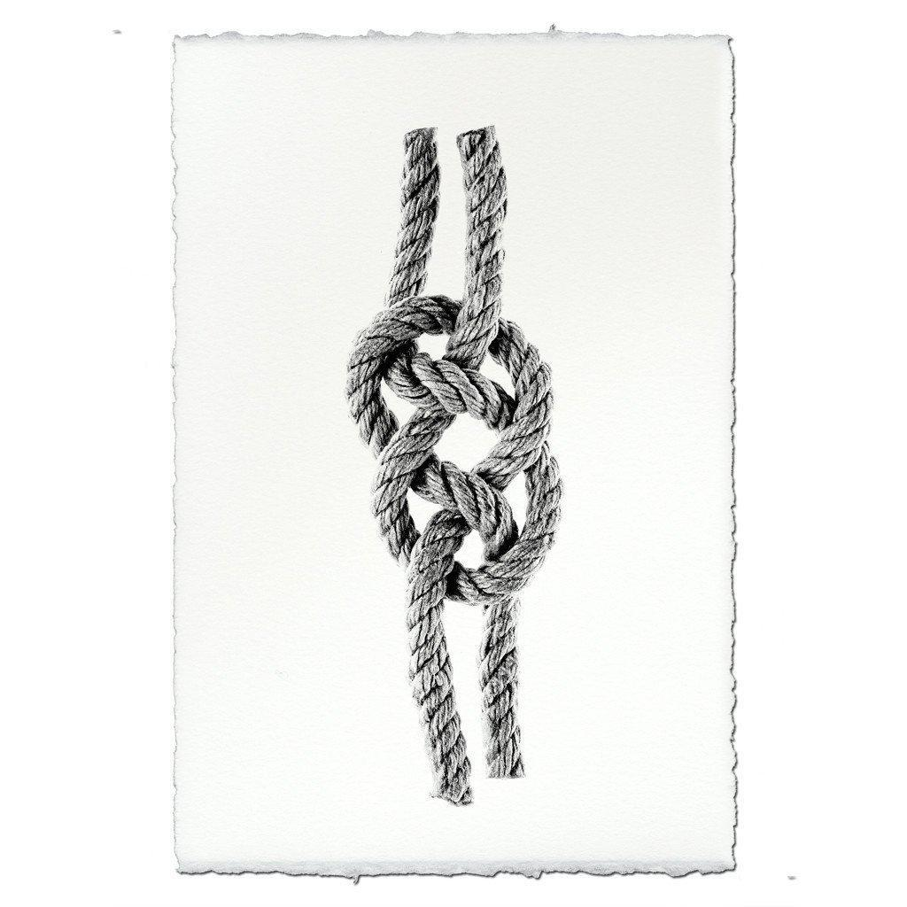 CARRICK BEND KNOT FRAMED ART