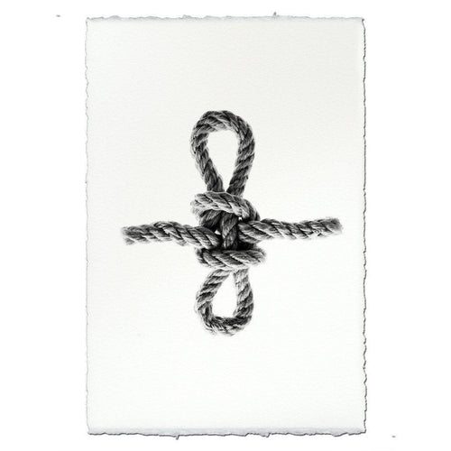 SHEEPSHANK KNOT FRAMED ART
