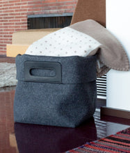 Load image into Gallery viewer, KORB TOTE BIN - CHARCOAL