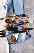 Load image into Gallery viewer, OSLO FLATWARE SET - MATTE COPPER
