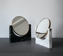 Load image into Gallery viewer, PEPE MIRROR - WHITE MARBLE