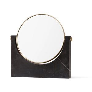 PEPE MIRROR - BLACK MARBLE