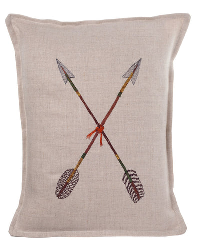 CROSSED ARROWS PILLOW