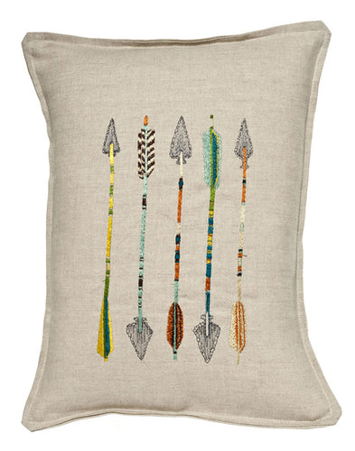 FIVE ARROWS PILLOW