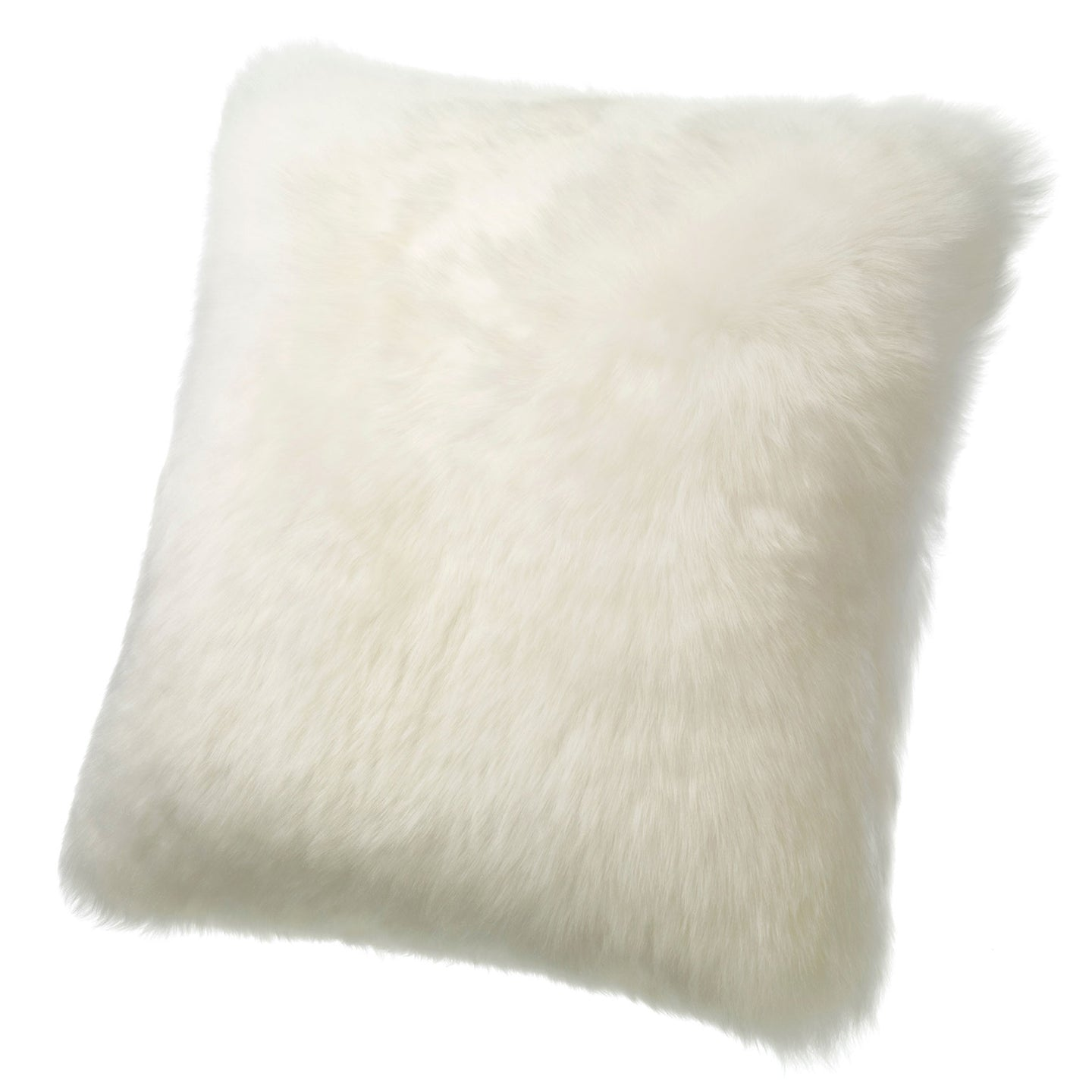 SHEARLING PILLOW - IVORY