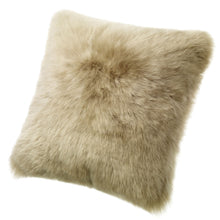 Load image into Gallery viewer, SHEARLING PILLOW - TAUPE