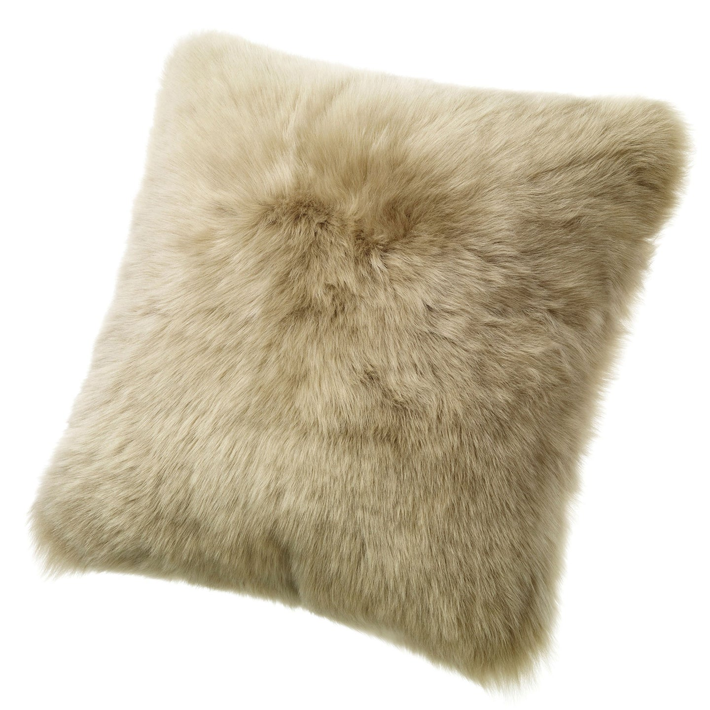 SHEARLING PILLOW - TAUPE