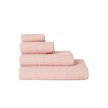 Load image into Gallery viewer, SIMPLE WAFFLE TOWELS - BLUSH