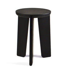 Load image into Gallery viewer, FIN STOOL - BLACK ASH