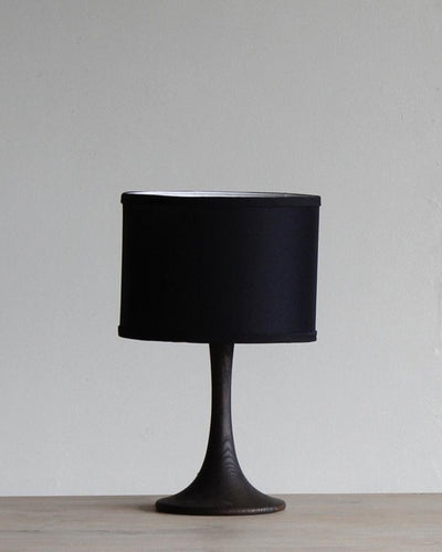 TRUMPET SMALL TABLE LAMP - DARK WASH