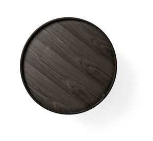 TURNING TABLE - BLACK ASH