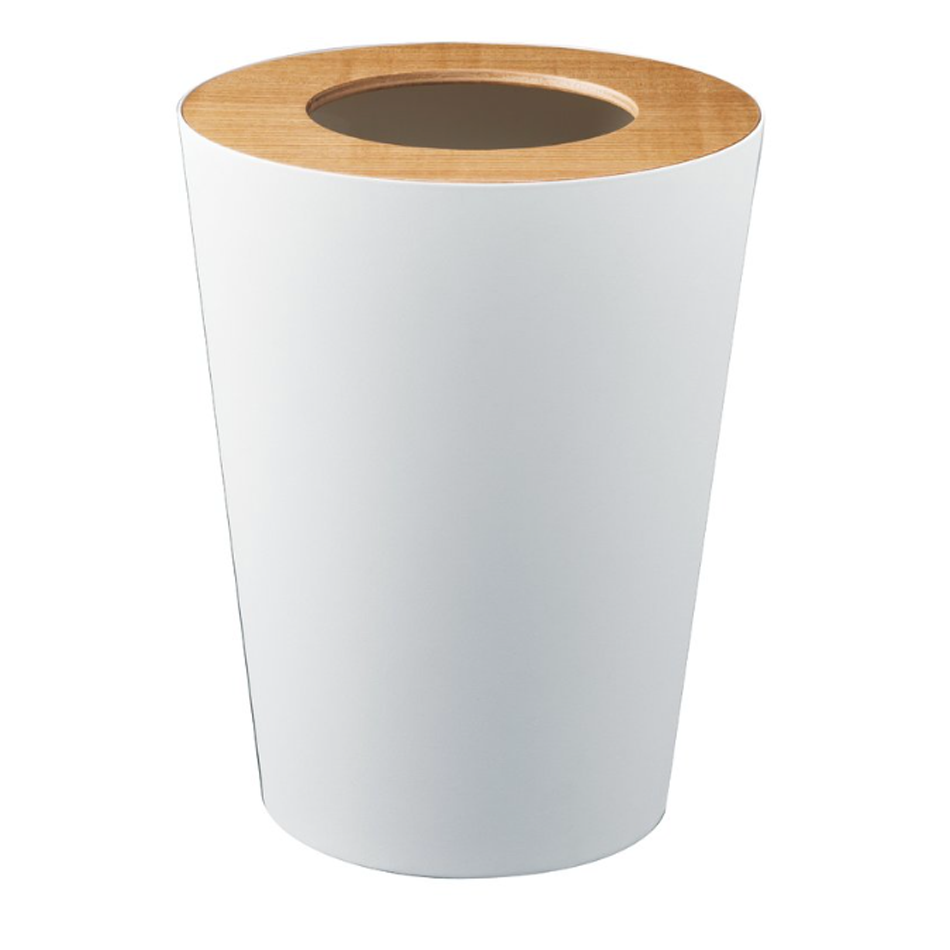WASTE PAPER CAN - WHITE