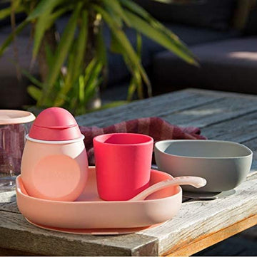 Silicone Baby Meal Tableware Set